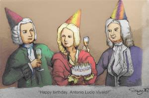 Happy Birthday Antonio Lucio Vivaldi! by Rossi-Rosedeni