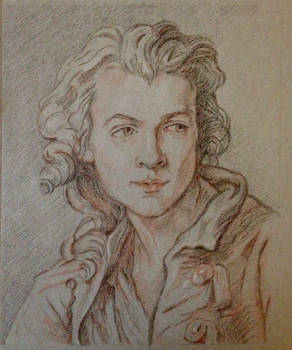 Trois Crayons after J.B. Lemoyne the Younger