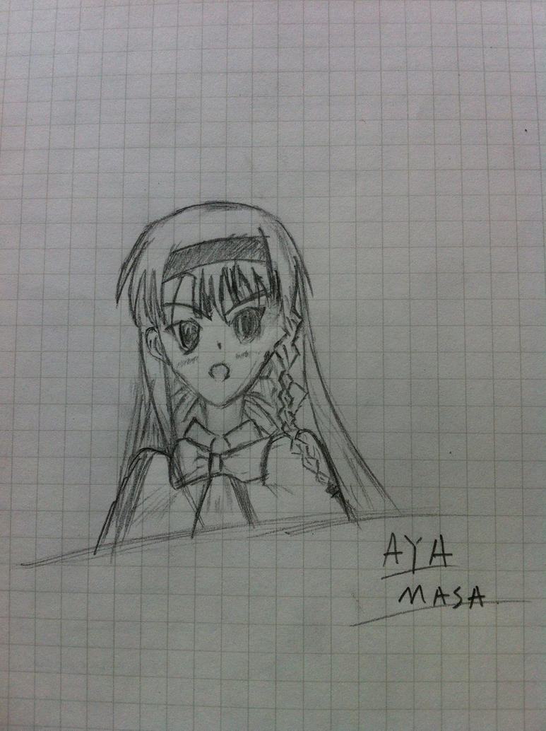 Aya Masa First Sketch by Jason-Jamey