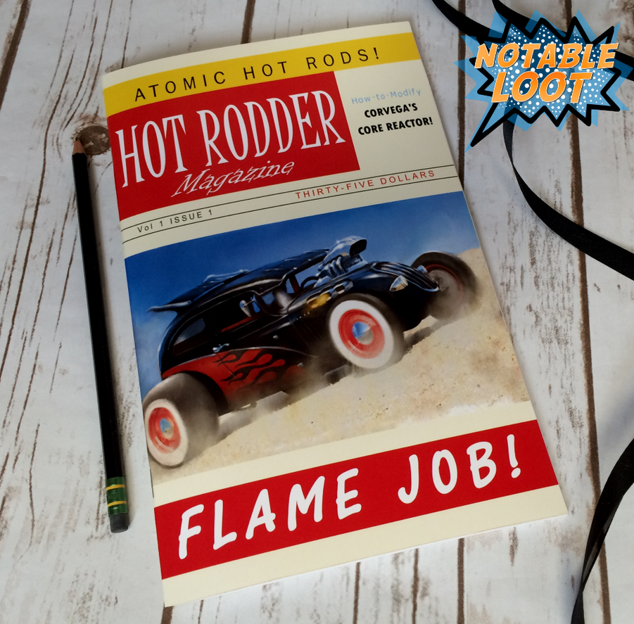 Hot Rodder: Flame Job Fallout replica Sketchbook by NotableLoot on ...