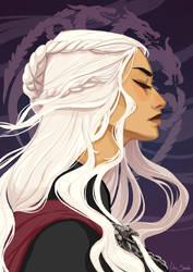 Daenerys Targaryen by Linu-art