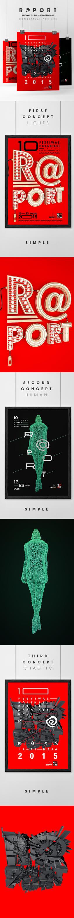 R@port festival branding by koodiPL