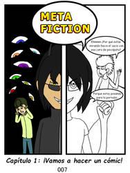 Metafiction 1 P07 Portada by CianGuiTian