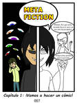 Metafiction 1 P07 Portada by CianGuiTian