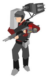 TF2 - Soldier by texasellipses