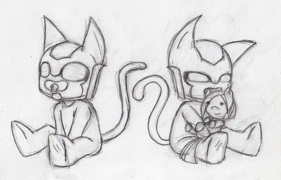 Mis Dibujos y más - Página 2 D_d__baby_kittycon___sketch_by_sweetcrow-d584xea
