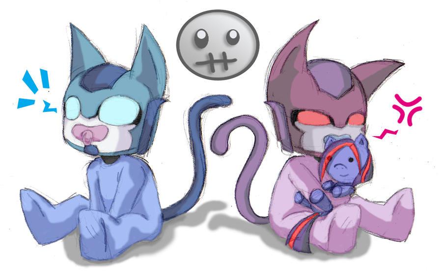 Mis Dibujos y más - Página 2 D_d__baby_kittycon_by_sweetcrow-d58e0ml