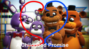 Fronnie comic (A childhood promise) cover page
