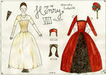 16th century paper doll