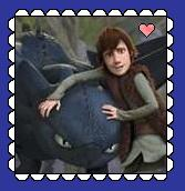 Toothless And Hiccup Stamp by MorkelebTheDragon