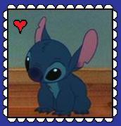 Stitch Fan Stamp by MorkelebTheDragon