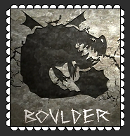 Boulder Class Fan Stamp by MorkelebTheDragon