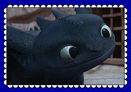 Night Fury/Toothless Fan Stamp 2 by MorkelebTheDragon