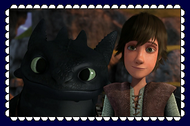 Hiccup And Toothless Fan Stamp 3 by MorkelebTheDragon