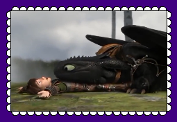 Hiccup And Toothless Fan Stamp 6 by MorkelebTheDragon
