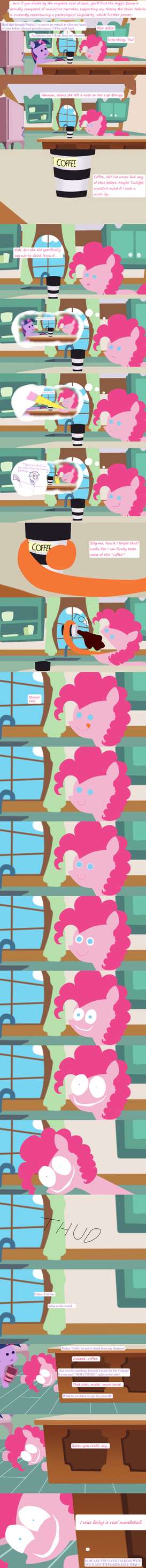 Pinkie Plus Coffee by unassuminguser