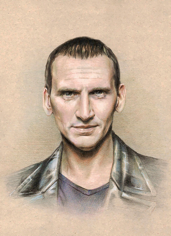 Doctor Who - Eccleston by Lei-Feiyang