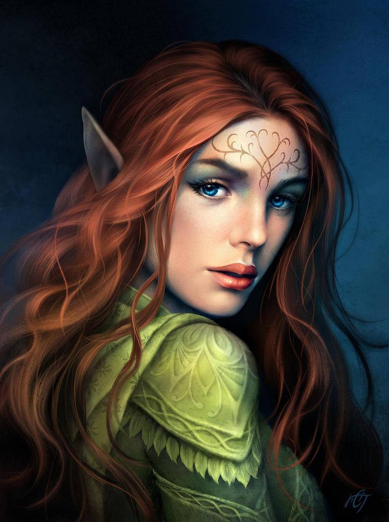 Elvish People Commission: Malvae. by...