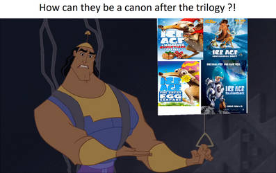 Kronk no sense Ice Age franchise after trilogia by Revan005