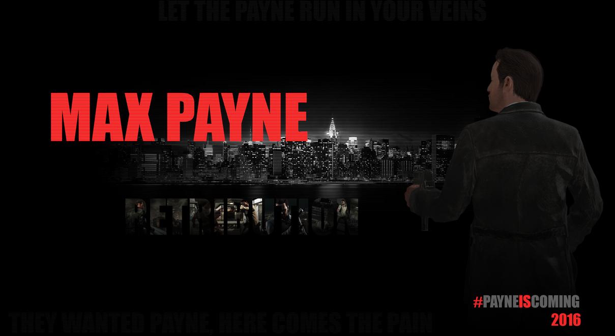 Max Payne: Retribution Cover by cyogesh56