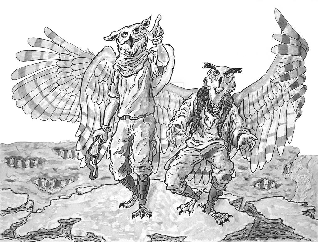 The Great Flying Owls