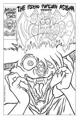 Alternative Cover / The Bloody Nightmare Virus!