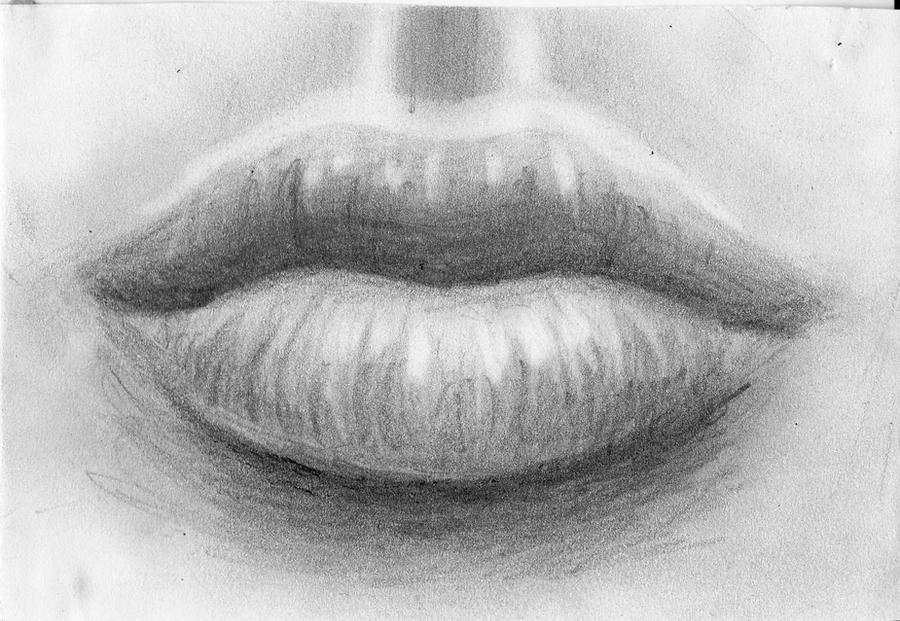 Lips Sketch by Amazura: www.deviantart.com/morelikethis/artists/403796946?view_mode=2