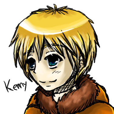 South Park - Kenny by CometTheMicroraptor