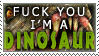 Stamp: Dinosaur by CometTheMicroraptor