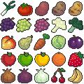 Pixel Produce by CometTheMicroraptor