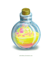 Level 1 blessing potion - SOLD OUT by adorabless