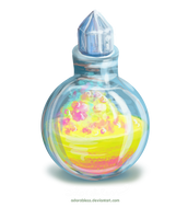 Level 2 Blessing Potion - Closed by adorabless