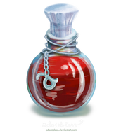 Level 4 Life Potion - OPEN by adorabless