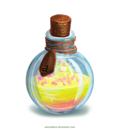 Level 3 Bless Potion - OPEN by adorabless