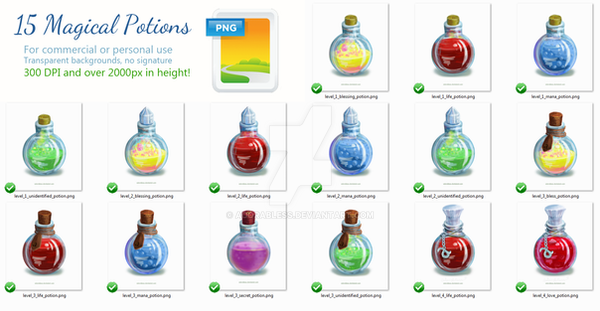 15 Magical Potion PNG by adorabless on DeviantArt