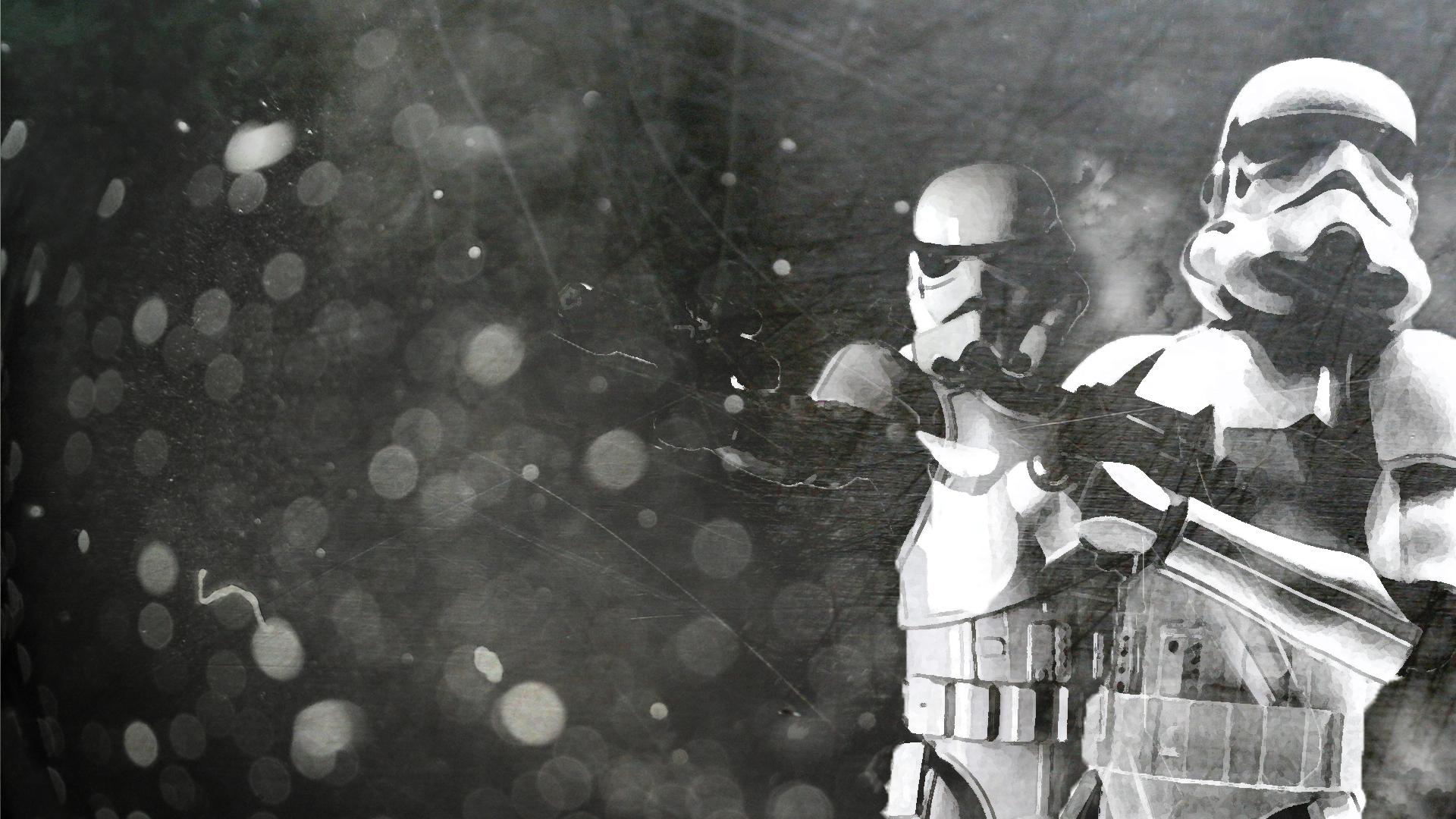 Stormtrooper Wallpaper by Sorrowda on