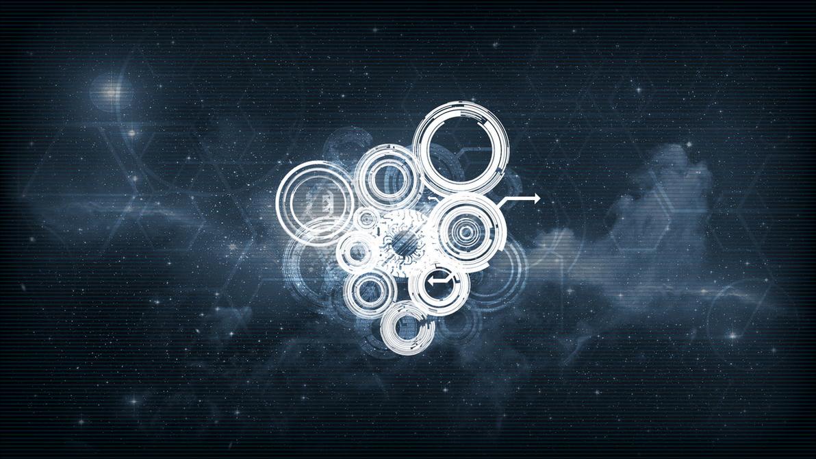 Sci Fi Tech Wallpaper By NIHILUSDESIGNS