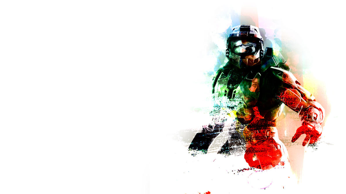 Master chief wallpaper by nihilusdesigns on deviantart master chief wallpaper by nihilusdesigns voltagebd Image collections
