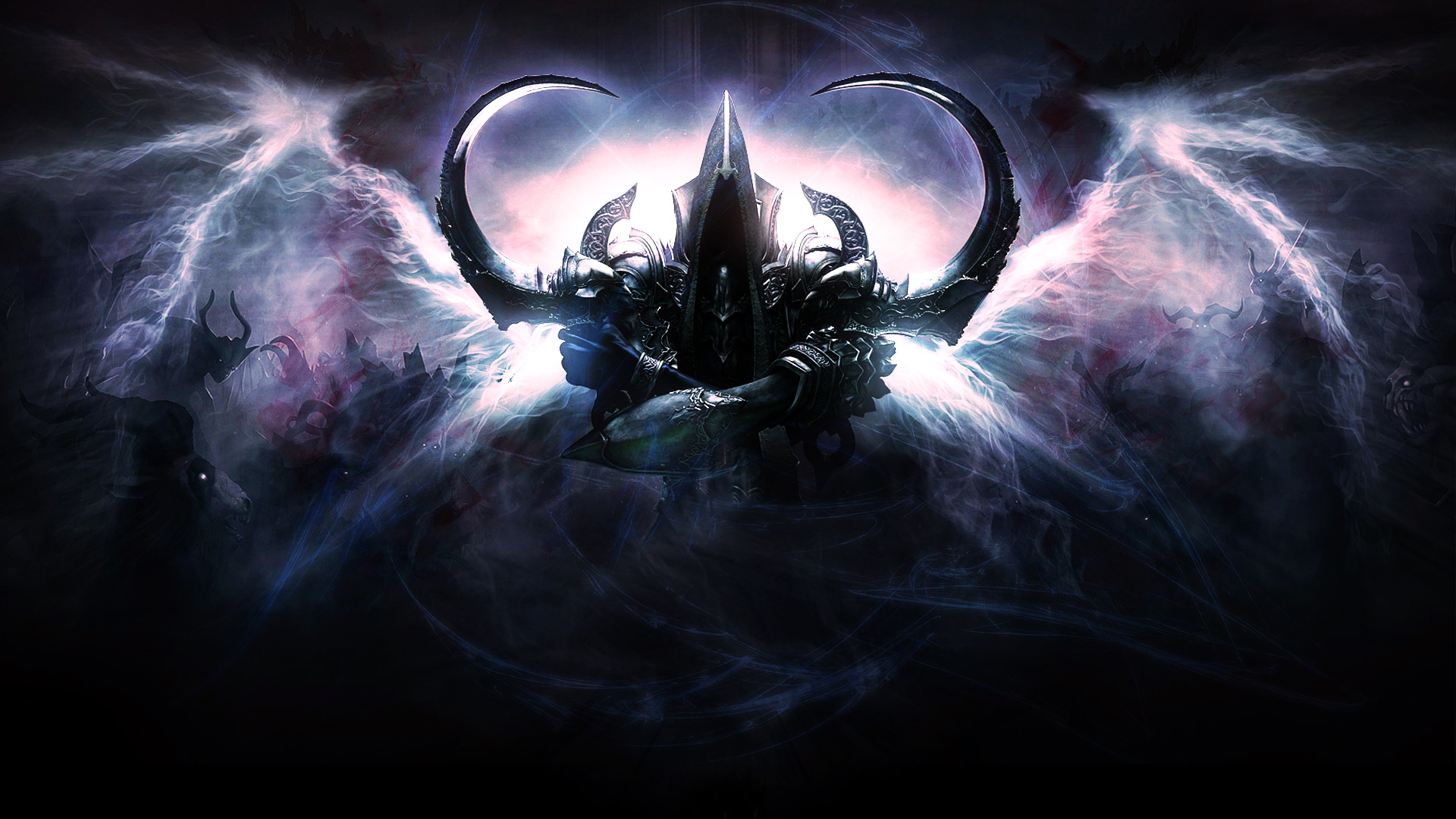 Diablo 3 Reaper of Souls Wallpaper by NIHILUSDESIGNS on DeviantArt
