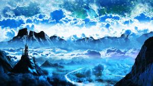 Sci-Fi Landscape Wallpaper