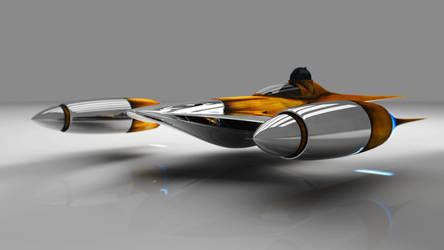 Naboo N1-Starfigher by Sorrowda