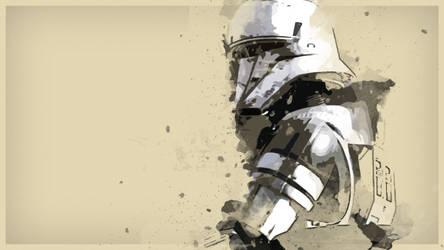 Star Wars Rogue One Tank Trooper Wallpaper by Sorrowda