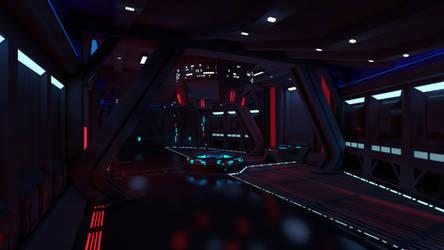 Star Wars - Sith Inquisitor Ship Controll Room by Sorrowda