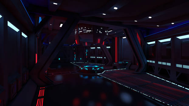 Star Wars - Sith Inquisitor Ship Controll Room
