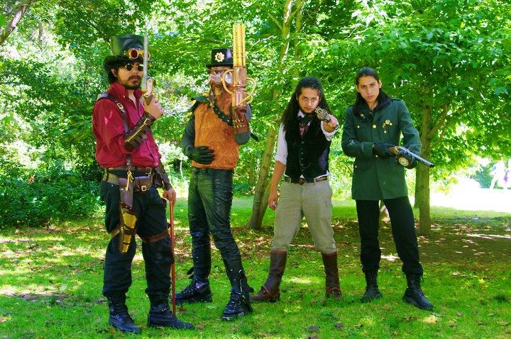 Steampunk gentlemen's by SteampunkChile
