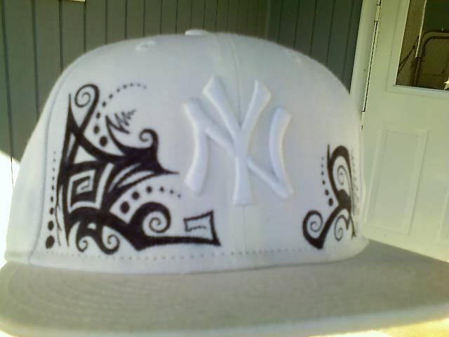 Sharpie On Yankees Hat by FunkyNotAJunky
