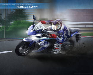 Super Bike You Can Ride Every Day by anangs71