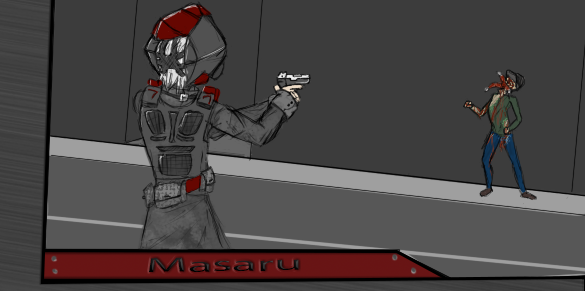 Masaru by facetheliight