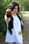 Videl (Dragon Ball) cosplay by SexyAshley69