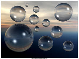 Bubbles in the sky by Sultan-Almarzoogi